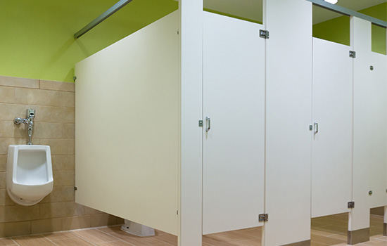 Powder Coated Partitions: